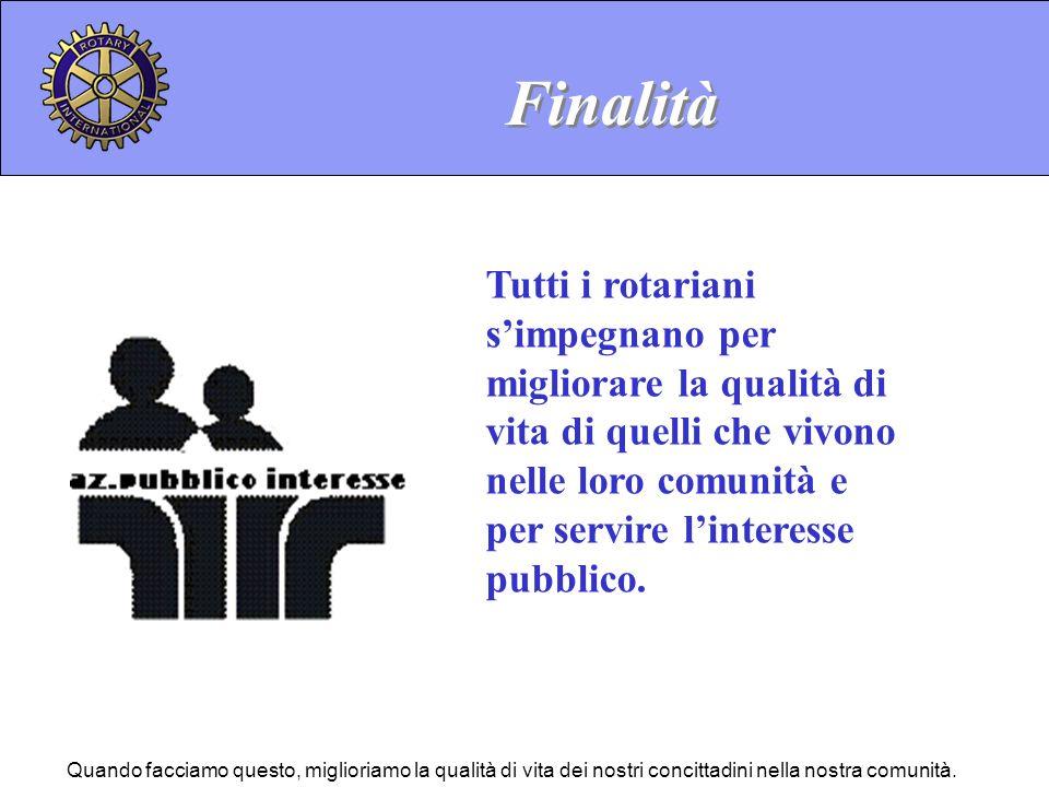 Considerare Progetti Il Rotary International stimola i club ed i rotariani a considerare progetti nelle sue aree prioritarie dinteresse.