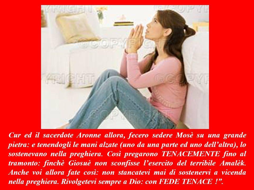 Sottofomdo musicale: NON MOLLARE MAI (Gigi DAlessio) Buona Domenica da Antonio Di Lieto (www.bellanotizia.it) Ora che hai ascoltato la Mia Parola, rispondimi … Per approfondire la bellanotizia premi qui F I N E