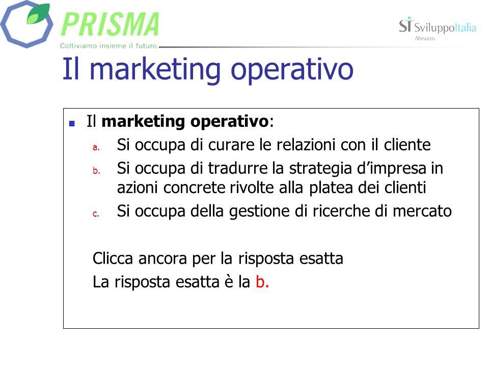 Il marketing mix Lindice di copertura definisce: a.