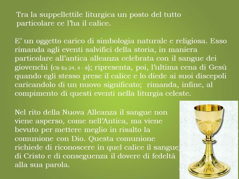 Il periodo iniziale del cristianesimo non conosce oggetti particolari destinati al culto, ma vede utilizzata la stessa suppellettile domestica per il