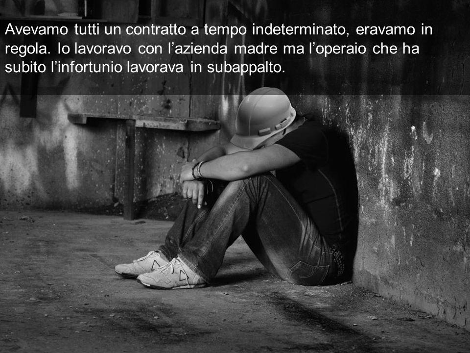 Io ancora non so quanto mi daranno di invalidità, e quando me la daranno (Z., edile, nazionalità rumena - Roma)