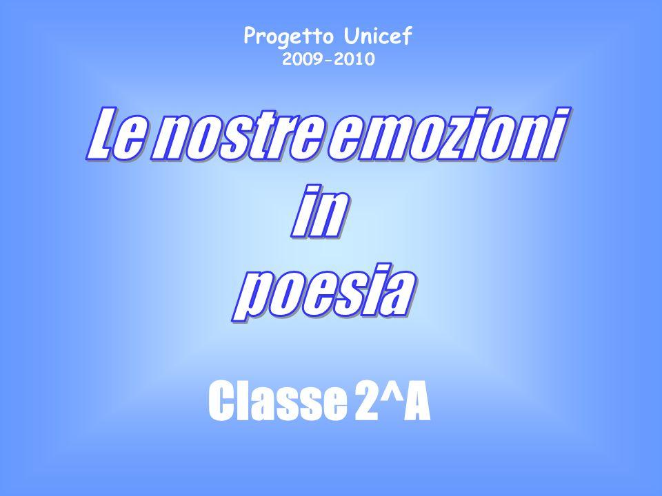 Classe 2^A Progetto Unicef 2009-2010