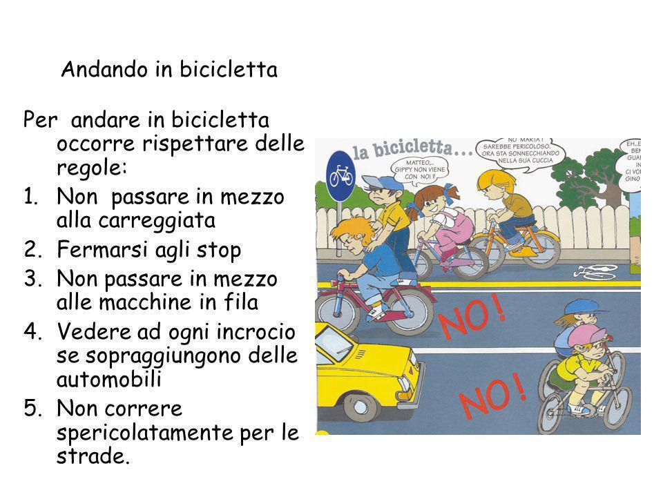 Comè la bici La bici è un mezzo a due ruote. Questa è gialla e nera, ha il manubrio regolabile dove ci sono attaccati i freni, ha il sellino che si pu