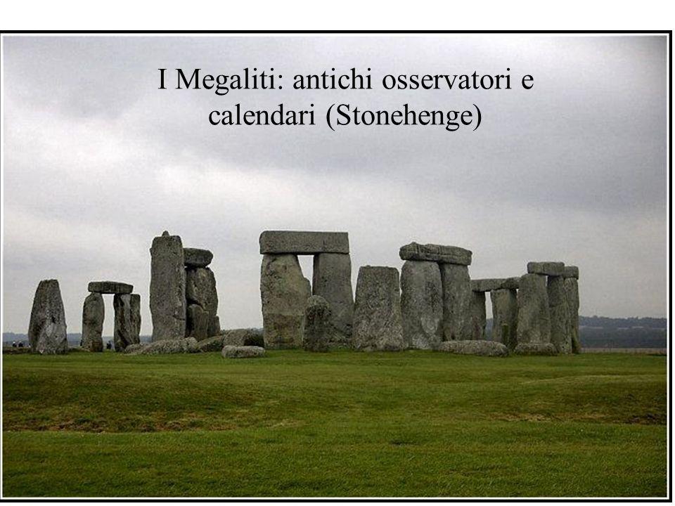I Megaliti: antichi osservatori e calendari (Stonehenge)
