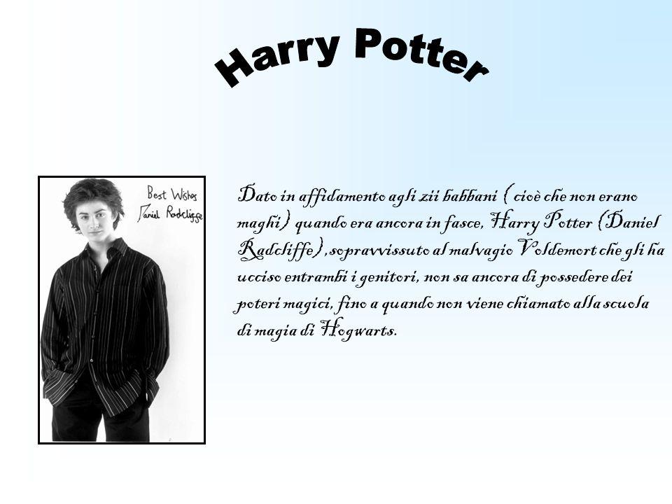 Dato in affidamento agli zii babbani ( cioè che non erano maghi) quando era ancora in fasce, Harry Potter (Daniel Radcliffe),sopravvissuto al malvagio