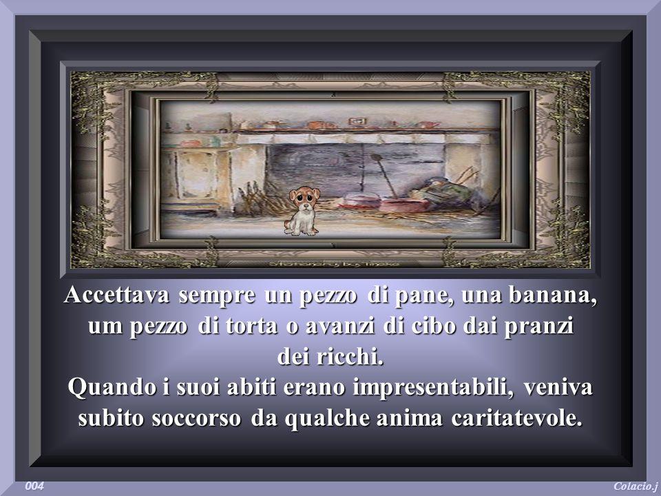 Serapico era un vecchio mendicante che girovagava per le strade della città. Al suo fianco, il fedele scudiero, un cagnaccio di nome Battuto. Serapico