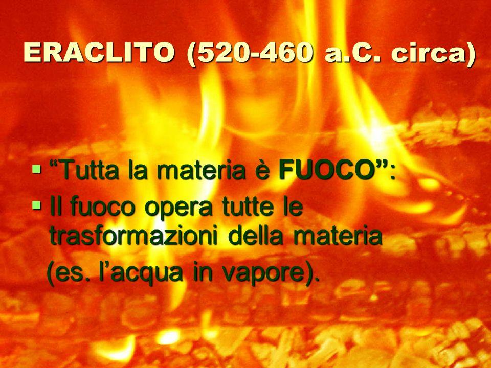 ERACLITO (520-460 a.C.