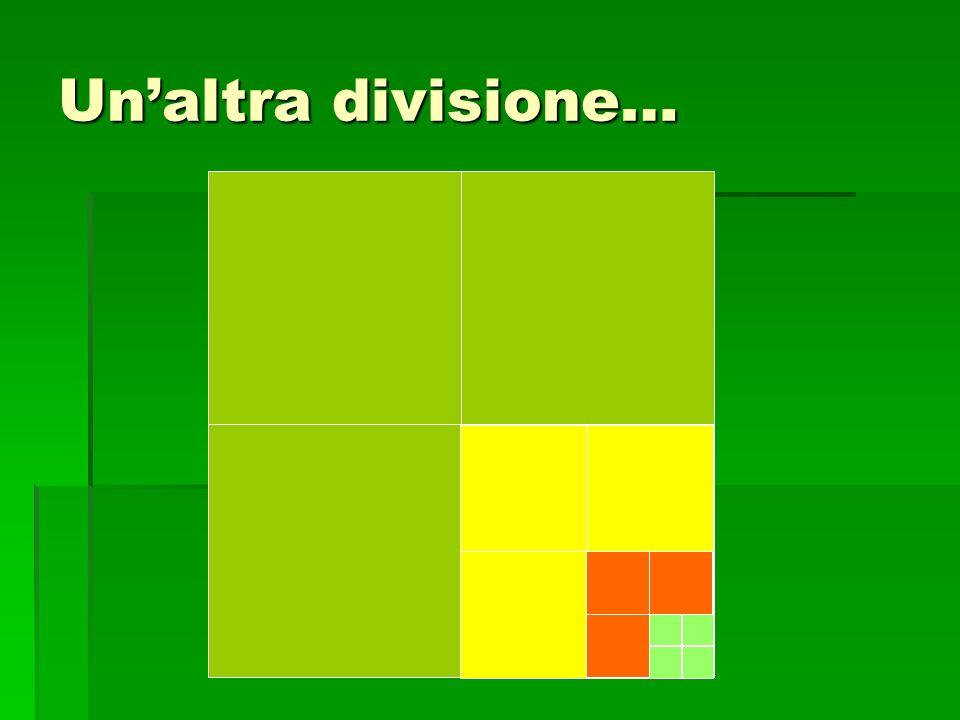 Unaltra divisione…