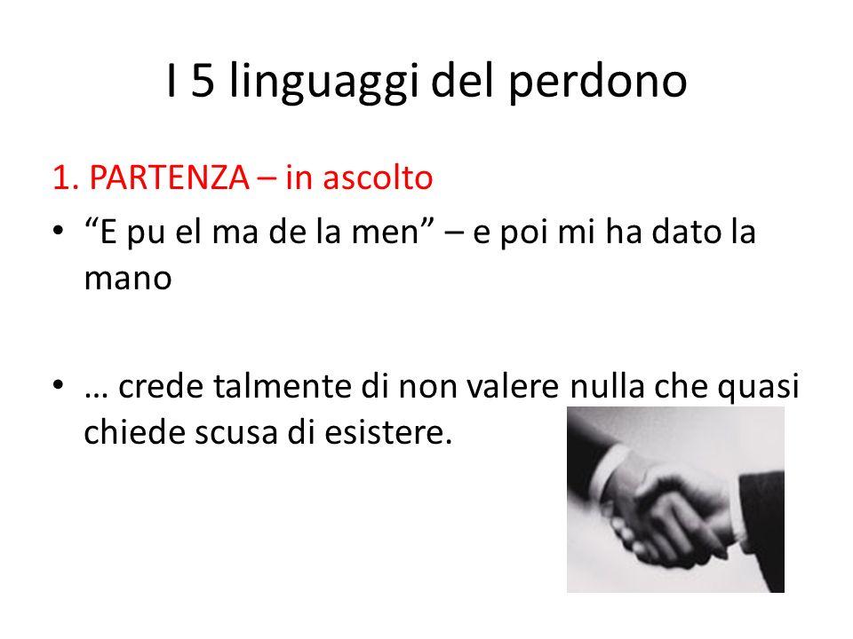 I 5 linguaggi del perdono 1.