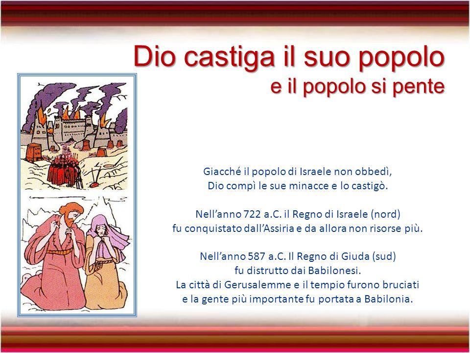 Molte volte il popolo si arrabbiava contro i profeti, a causa dei rimproveri che riceveva.