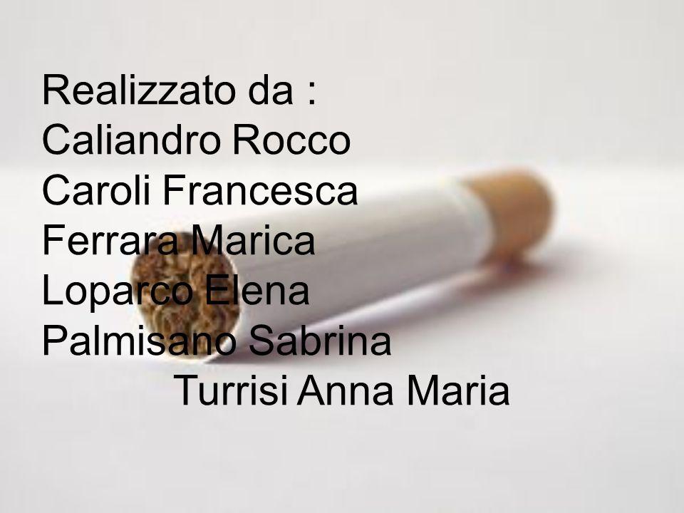 Realizzato da : Caliandro Rocco Caroli Francesca Ferrara Marica Loparco Elena Palmisano Sabrina Turrisi Anna Maria