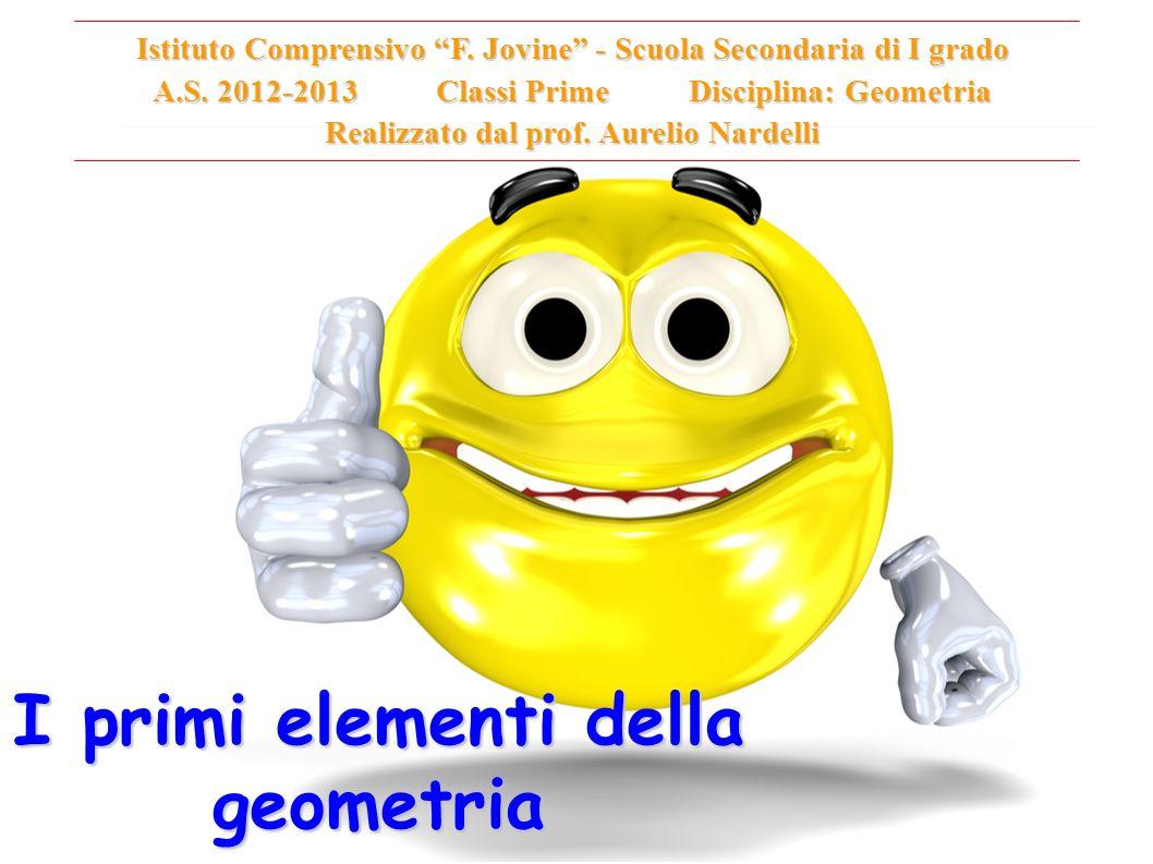 La geometria (dal greco antico γεωμετρία (geometria), composto da γεω, geo = terra e μετρία, metria = misura , tradotto quindi letteralmente come misurazione della terra.