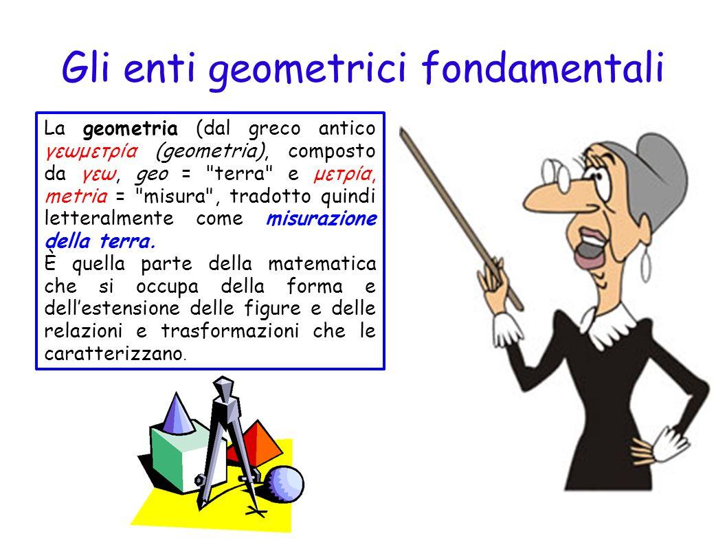 La geometria che si studia nelle scuole medie è opera degli studi dei geometri e filosofi greci, alessandrini (egiziani) e della Magna Grecia.