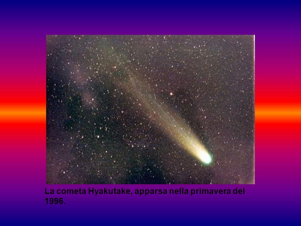 Le comete provengono da un insieme di milioni e milioni di corpi rocciosi, detto nube di Oort .