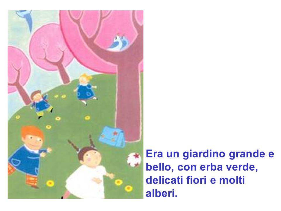 Ogni sera, alluscita dalla scuola, i bambini andavano a giocare nel giardino del Gigante.
