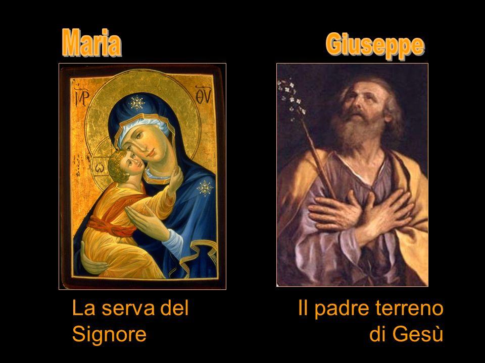 Il padre terreno di Gesù La serva del Signore
