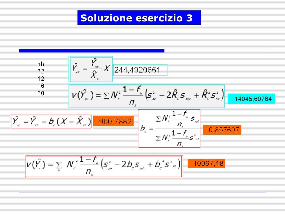 14045,60764 Soluzione esercizio 3