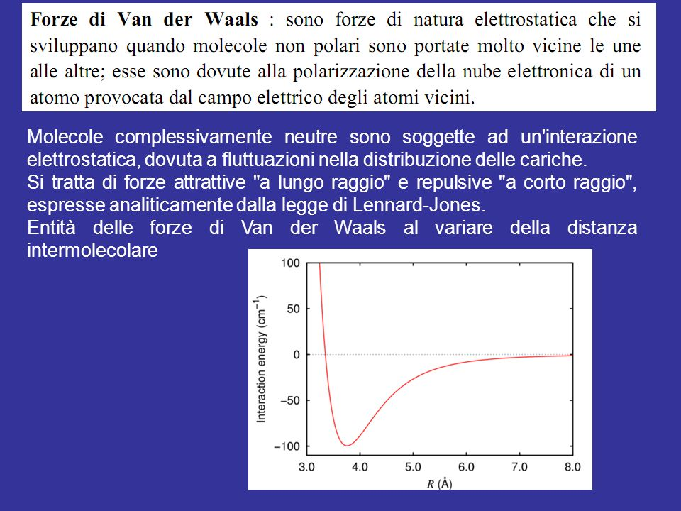 Molecole complessivamente neutre sono soggette ad un'interazione elettrostatica, dovuta a fluttuazioni nella distribuzione delle cariche. Si tratta di