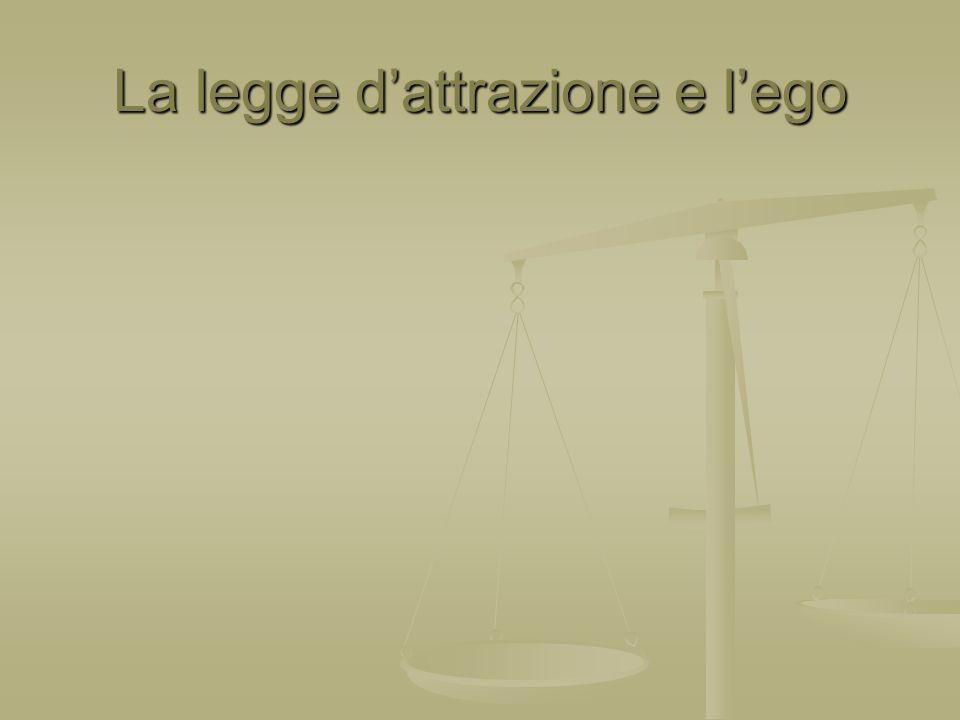 La legge dattrazione e lego