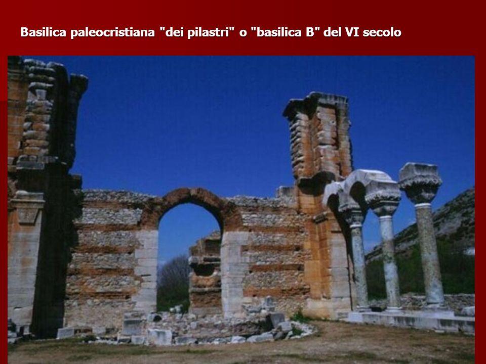 Basilica paleocristiana dei pilastri o basilica B del VI secolo