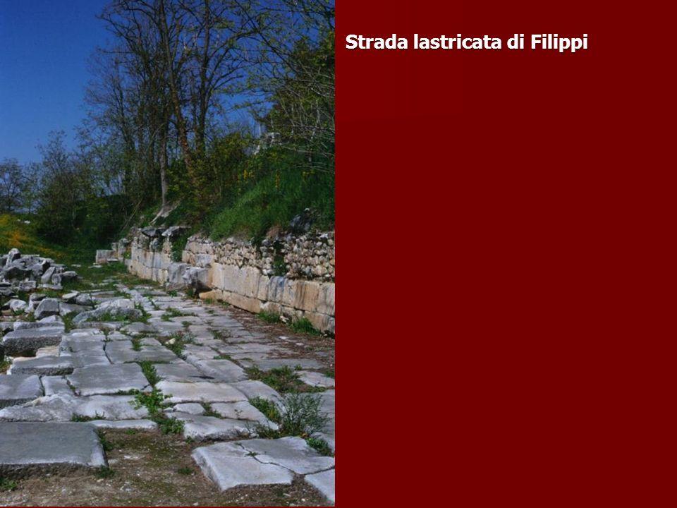 Strada lastricata di Filippi