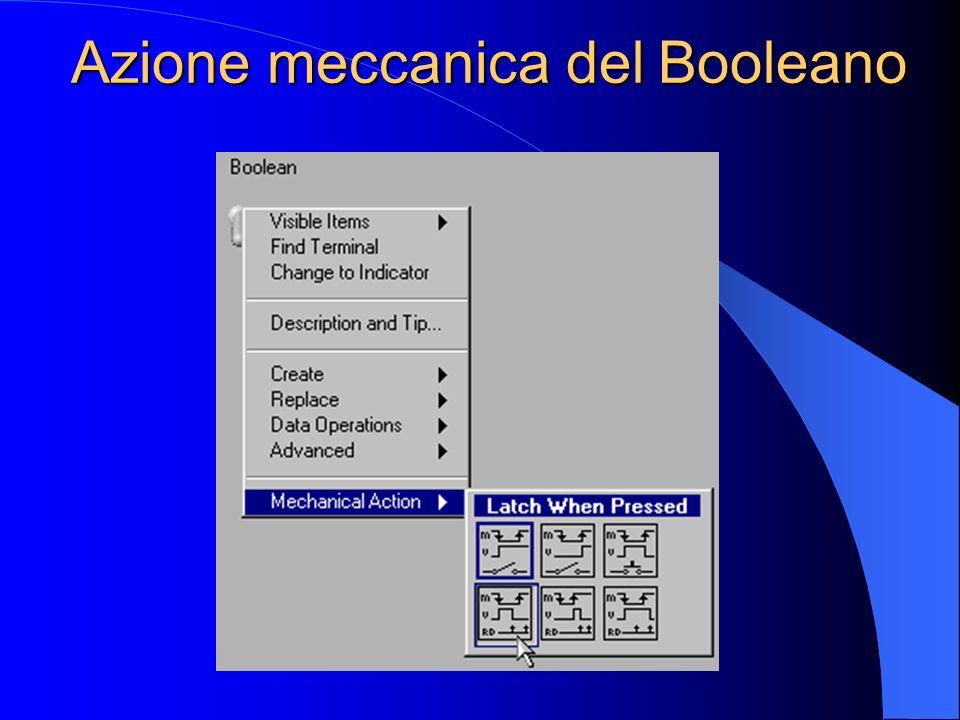 Azione meccanica del Booleano