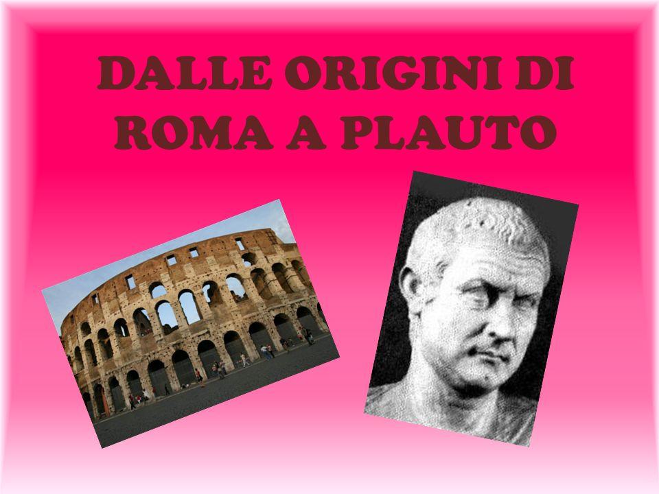 …DIPENDENZA DAI MODELLI GRECI… La letteratura latina nasce come traduzione di una forma letteraria greca senza trarre spunto dalla tradizione latina o italica.