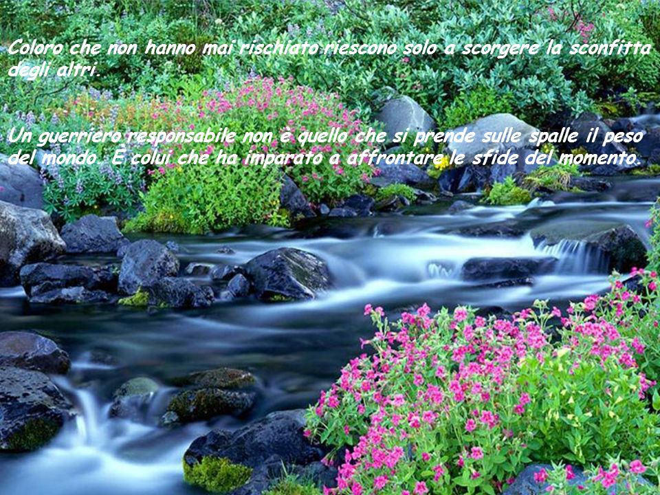 Esiste sempre un momento giusto per dire basta. La vita aspetta sempre le situazioni critiche per rivelare il suo lato più brillante. In ogni istante