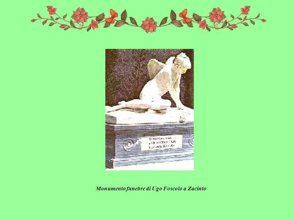 Monumento funebre di Ugo Foscolo a Zacinto