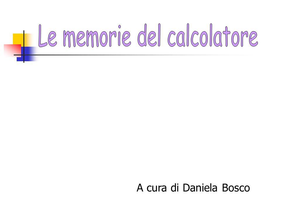 A cura di Daniela Bosco