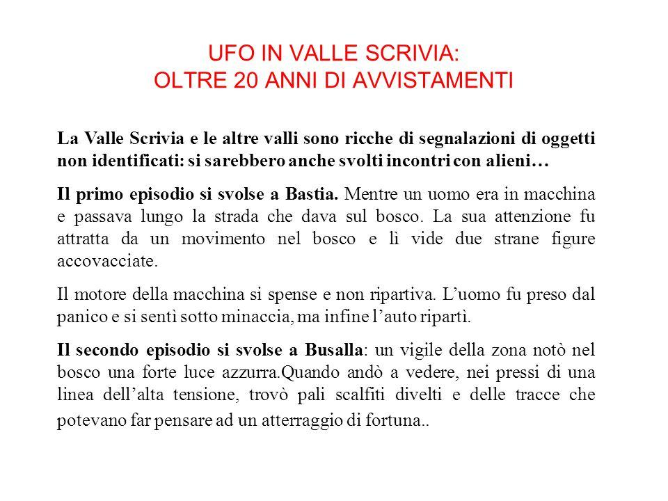 Ö MAGA Un momento esaltante fu quando Angelo Mazzolino trovò i resti dellabbazia di S.Andrea di Caserza in Valbrevenna nei pressi di Nenno. La gente d