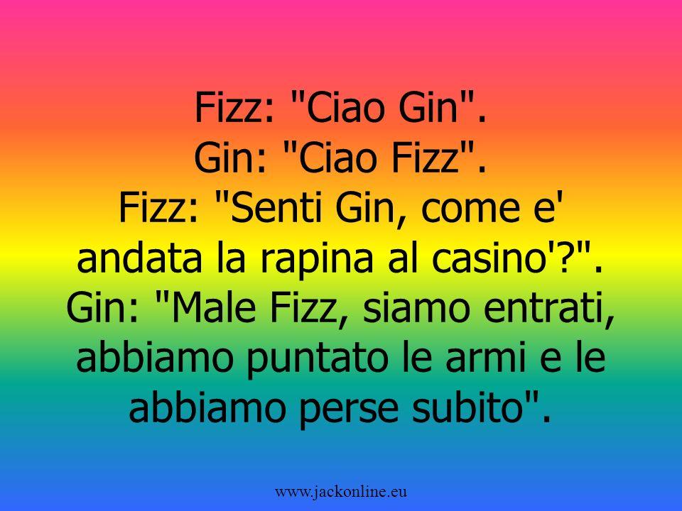 www.jackonline.eu Fizz: Ciao Gin .Gin: Ciao Fizz .