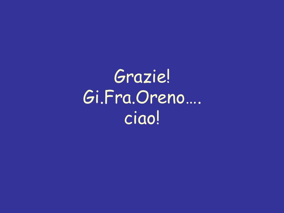 Grazie! Gi.Fra.Oreno…. ciao!
