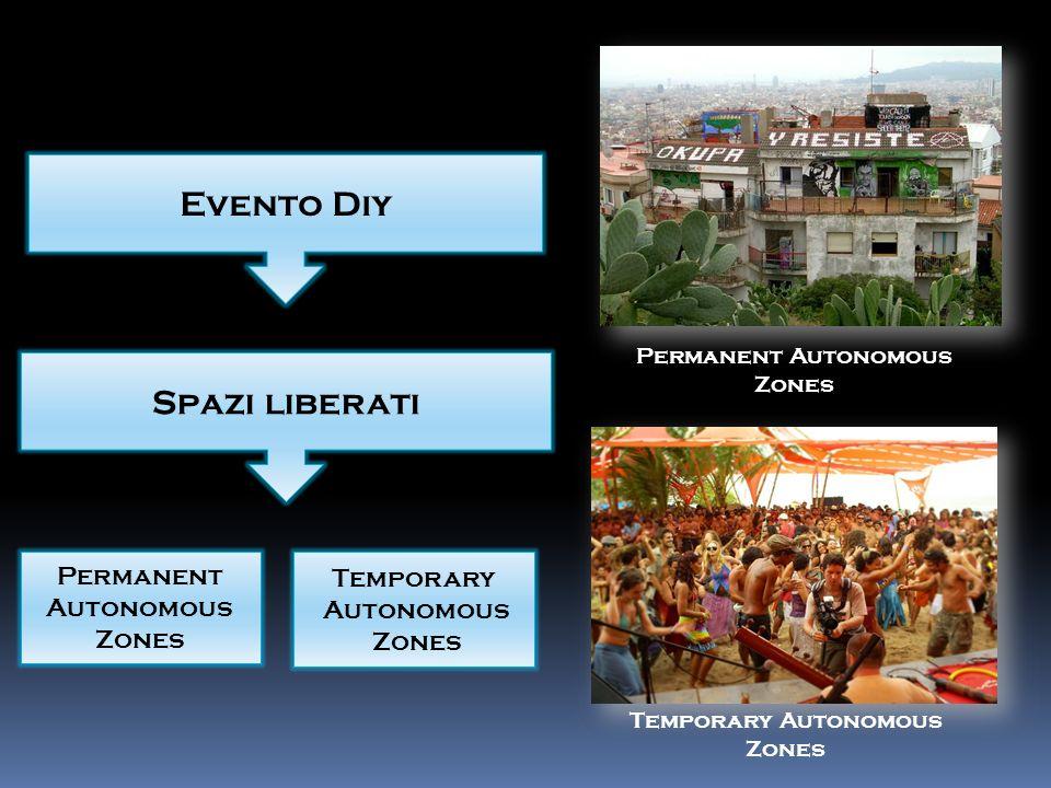 Evento Diy Spazi liberati Permanent Autonomous Zones Temporary Autonomous Zones Permanent Autonomous Zones Temporary Autonomous Zones