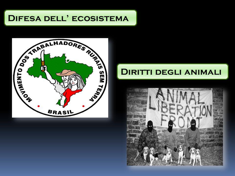 Difesa dell ecosistema Diritti degli animali