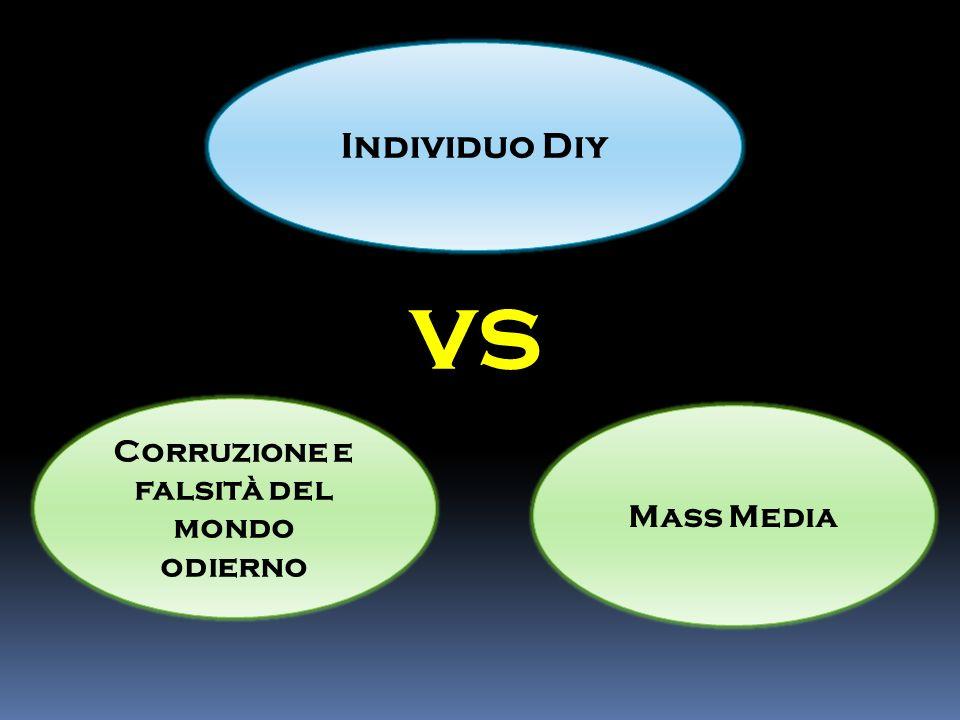 Individuo Diy vs Corruzione e falsità del mondo odierno Mass Media