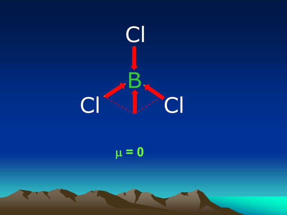 B Cl = 0