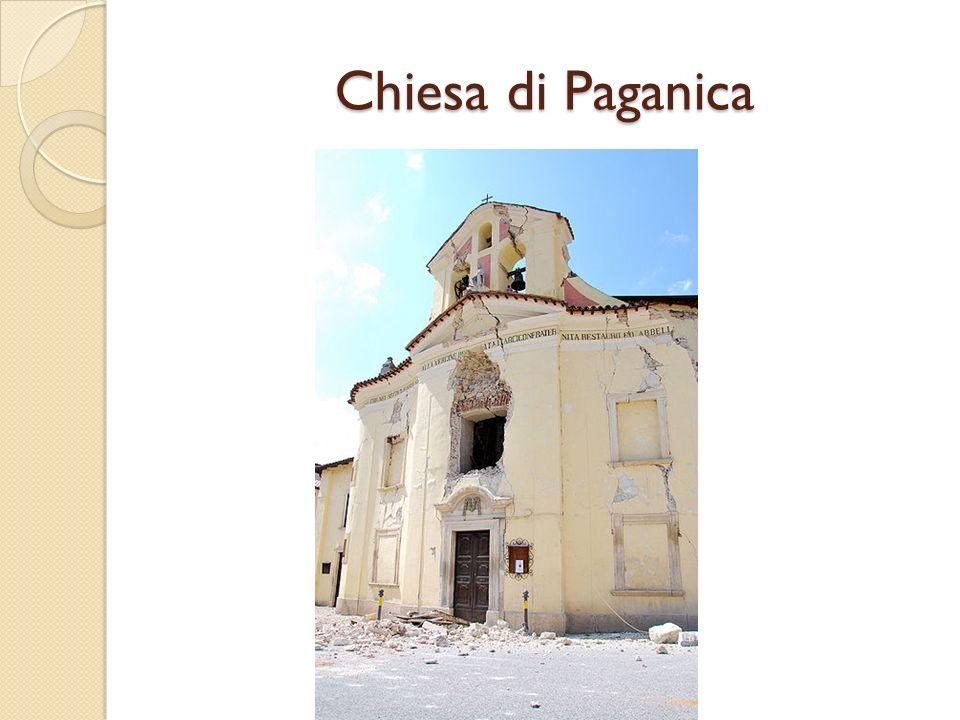 Chiesa di Paganica dopo il puntellamento