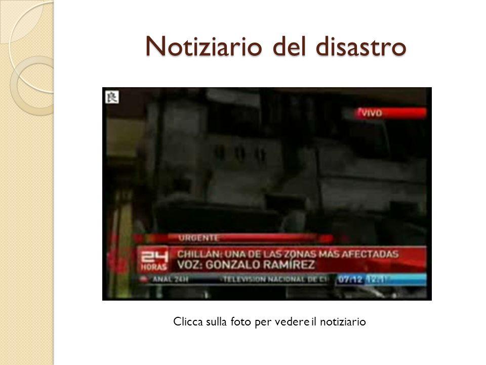 Museo darte contemporanea a Santiago del Cile dopo il sisma