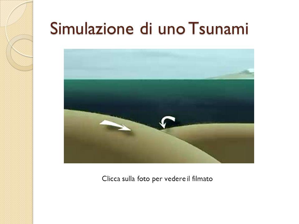 Uno Tsunami visto dallalto Animazione degli tsunami risultanti dal terremoto sottomarino del 26 dicembre 2004 nel sud-est asiatico.