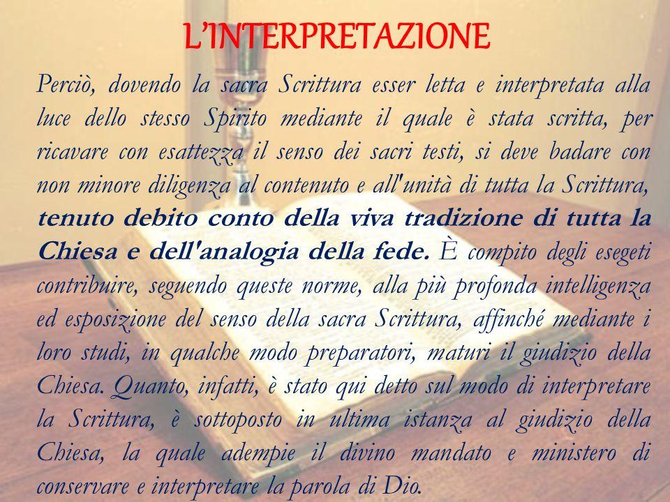 LINTERPRETAZIONE 3.
