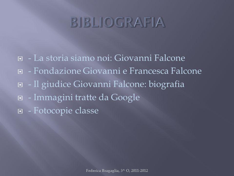 - La storia siamo noi: Giovanni Falcone - Fondazione Giovanni e Francesca Falcone - Il giudice Giovanni Falcone: biografia - Immagini tratte da Google