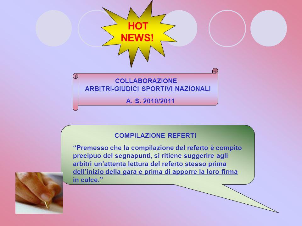 HOT NEWS! ART. 36 R.E. Obbligo della presenza dellambulanza VARIAZIONE E obbligatoria la presenza di una ambulanza, e del relativo personale di serviz