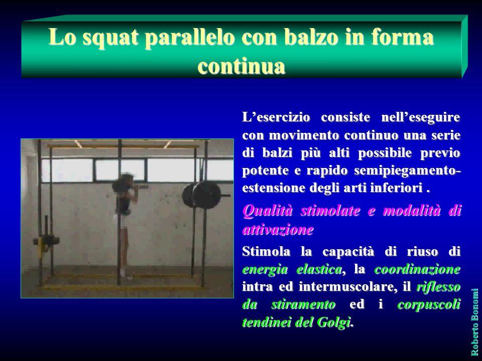 Rappresenta quella particolare espressione della forza muscolare che si evidenzia a seguito di un rapido piegamento-estensione degli arti inferiori, q