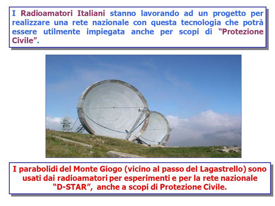 I Radioamatori Italiani stanno lavorando ad un progetto per realizzare una rete nazionale con questa tecnologia che potrà essere utilmente impiegata a