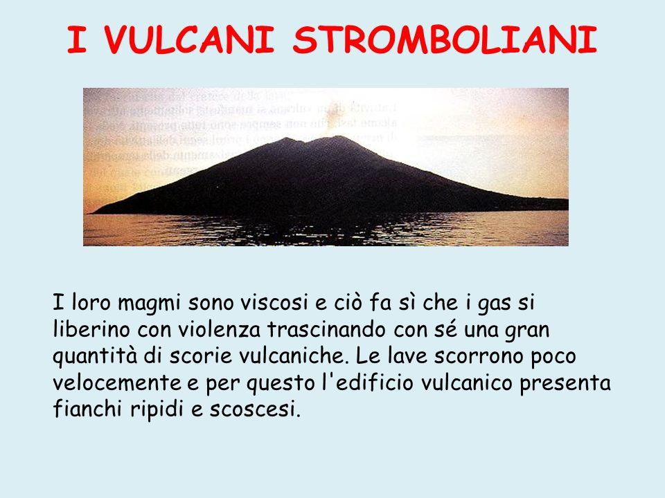 I VULCANI PELEANI Prendono il nome dal vulcano La Pelée, che si trova nella Martinica.