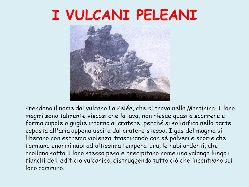 IL maremoto Può essere causato da un esplosione di vulcano sottomarino oppure di un terremoto marino Prima Dopo