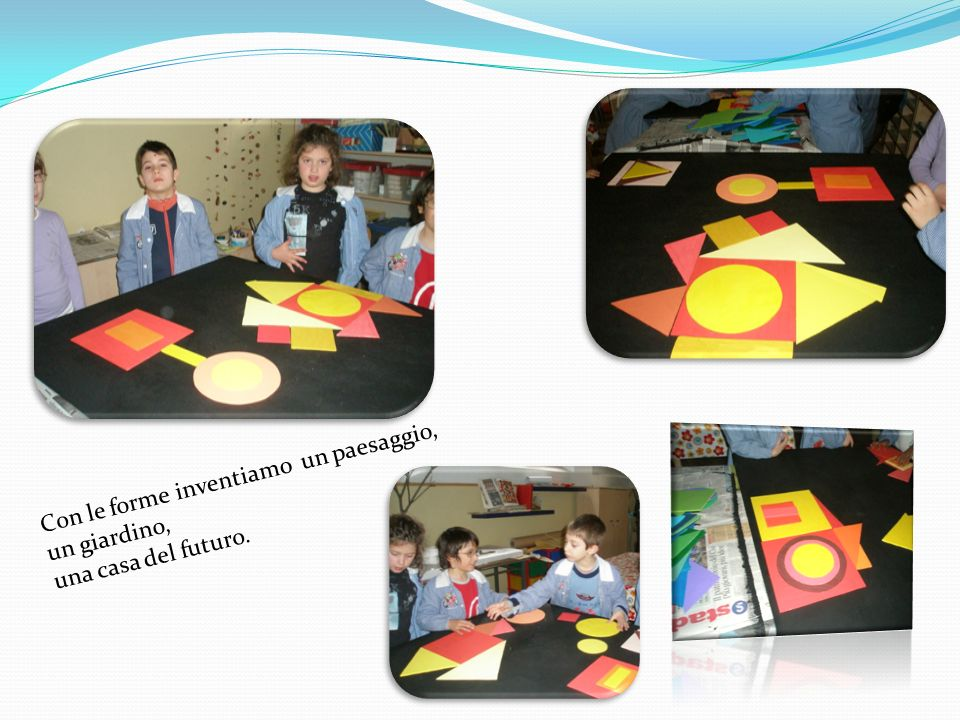Si colorano i pannelli in truciolato che serviranno da base per le opere finali.
