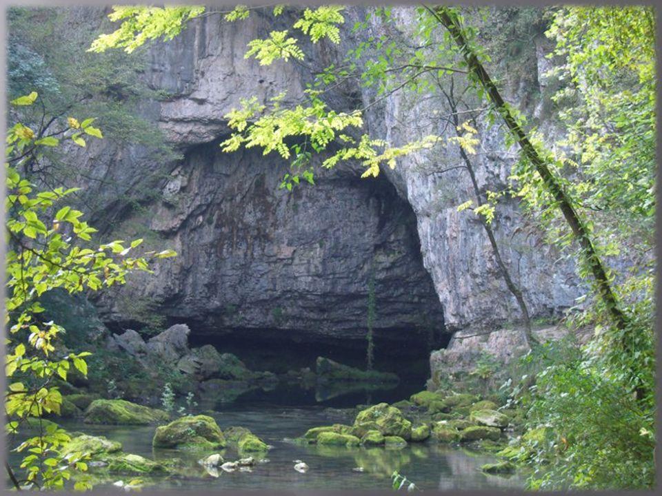 Le grotte di Oliero fanno parte del sistema carsico del nord Italia.