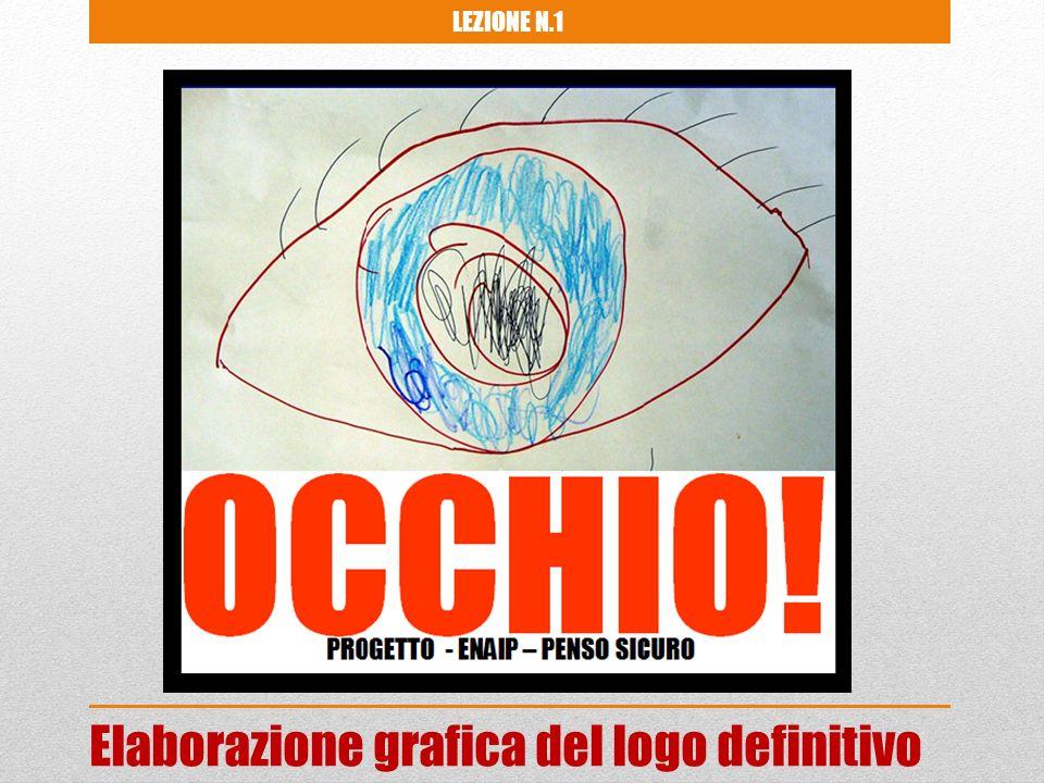 Elaborazione grafica del logo definitivo LEZIONE N.1